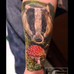 Animal Arm Tattoo
