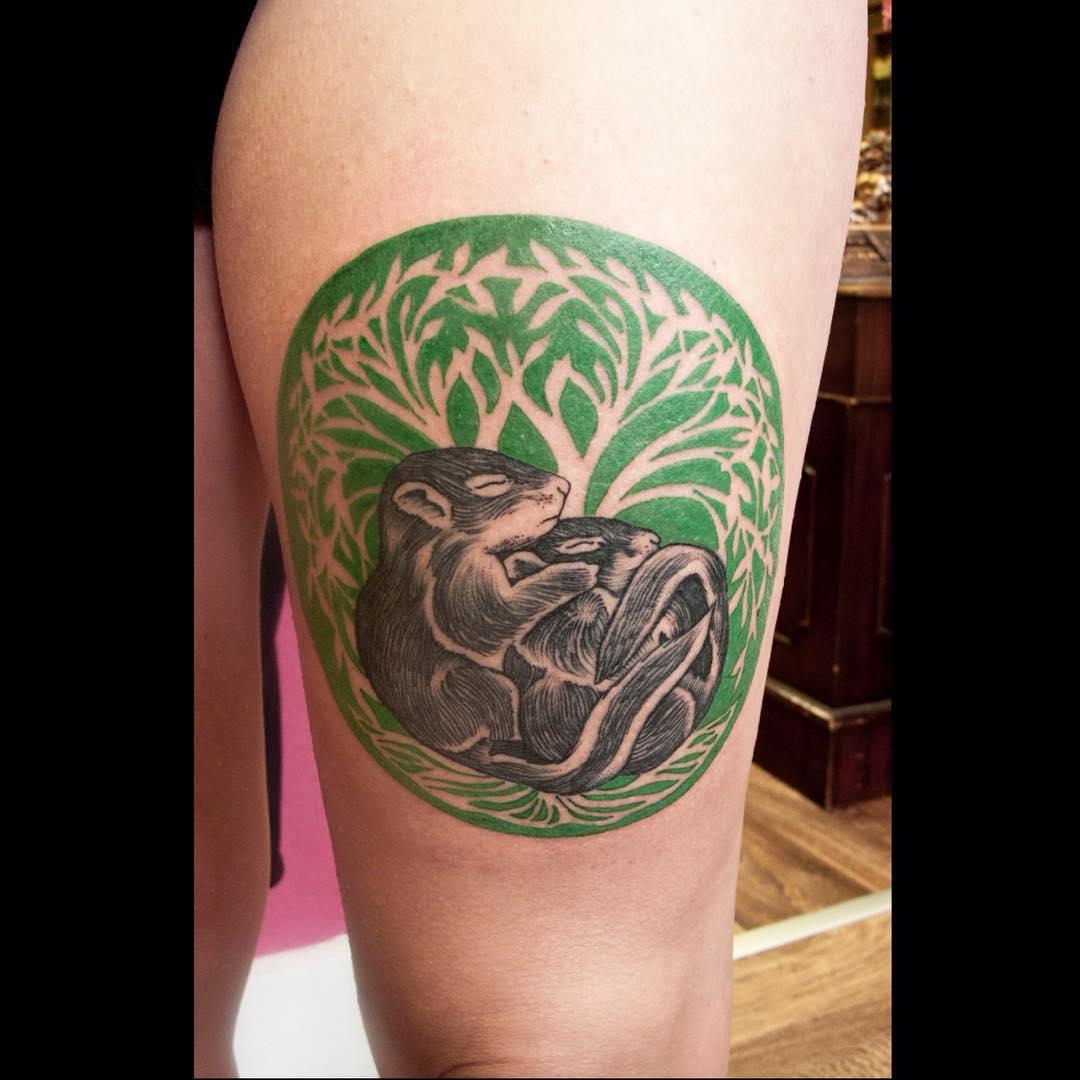 Animal Love Tattoo