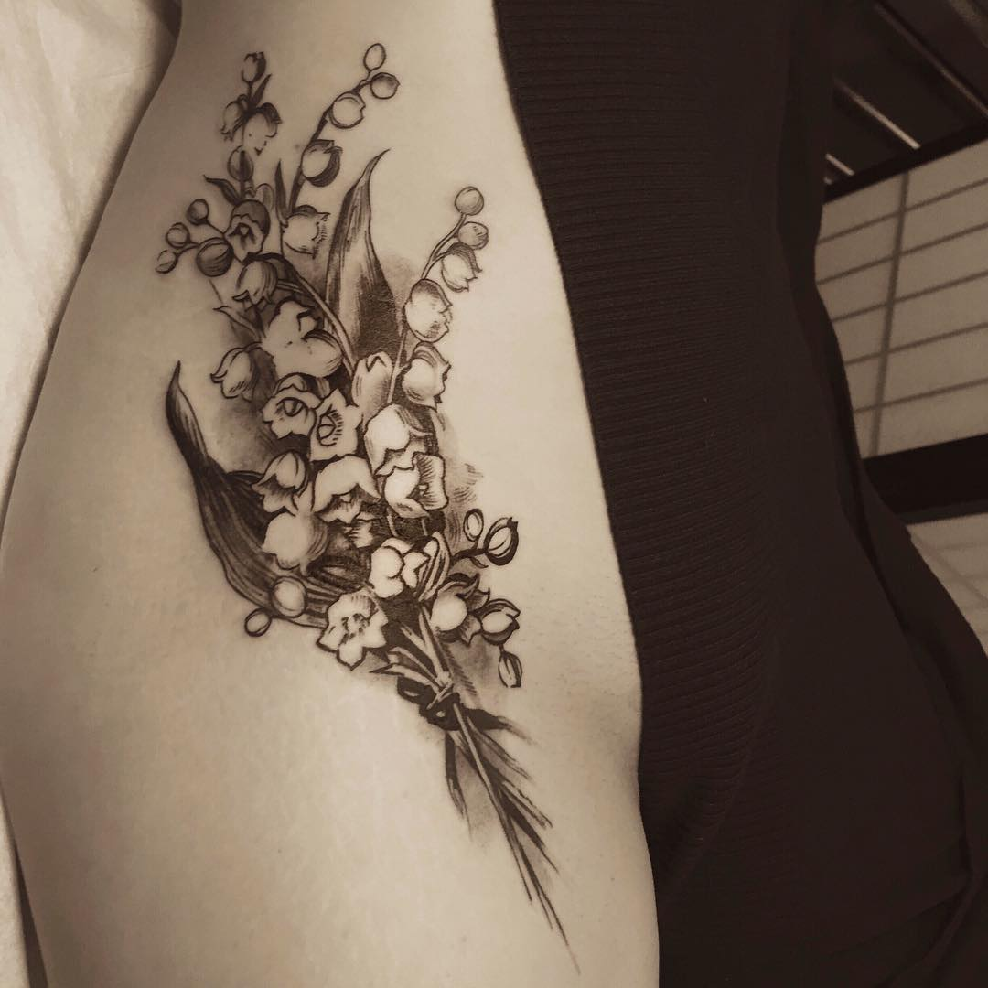 Bell Flower Tattoo