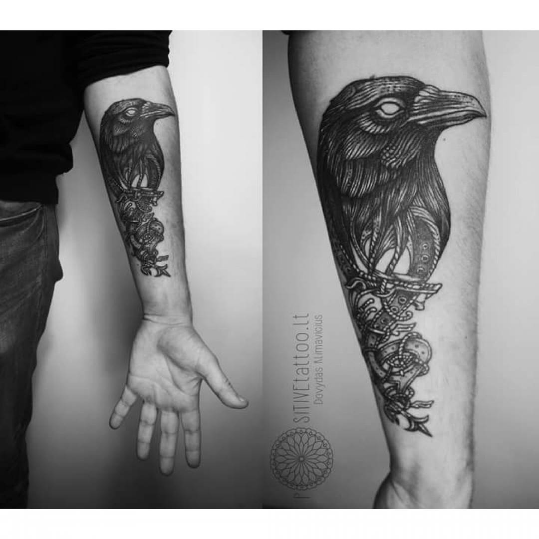 crow tattoo 36