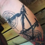 Bicycle Tattoo