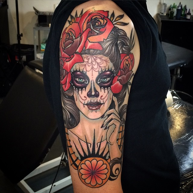 Chicano Style Tattoo
