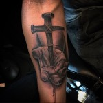 Crucifix Stigmata Tattoo
