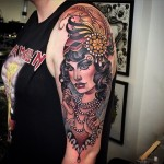 Fancy Lady Tattoo
