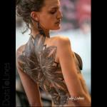 Flower Full Back Tattoo