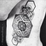 Geometric Dotwork Tattoo