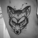 Grey Fox Tattoo
