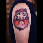 Helmet Guy Tattoo on Shoulder