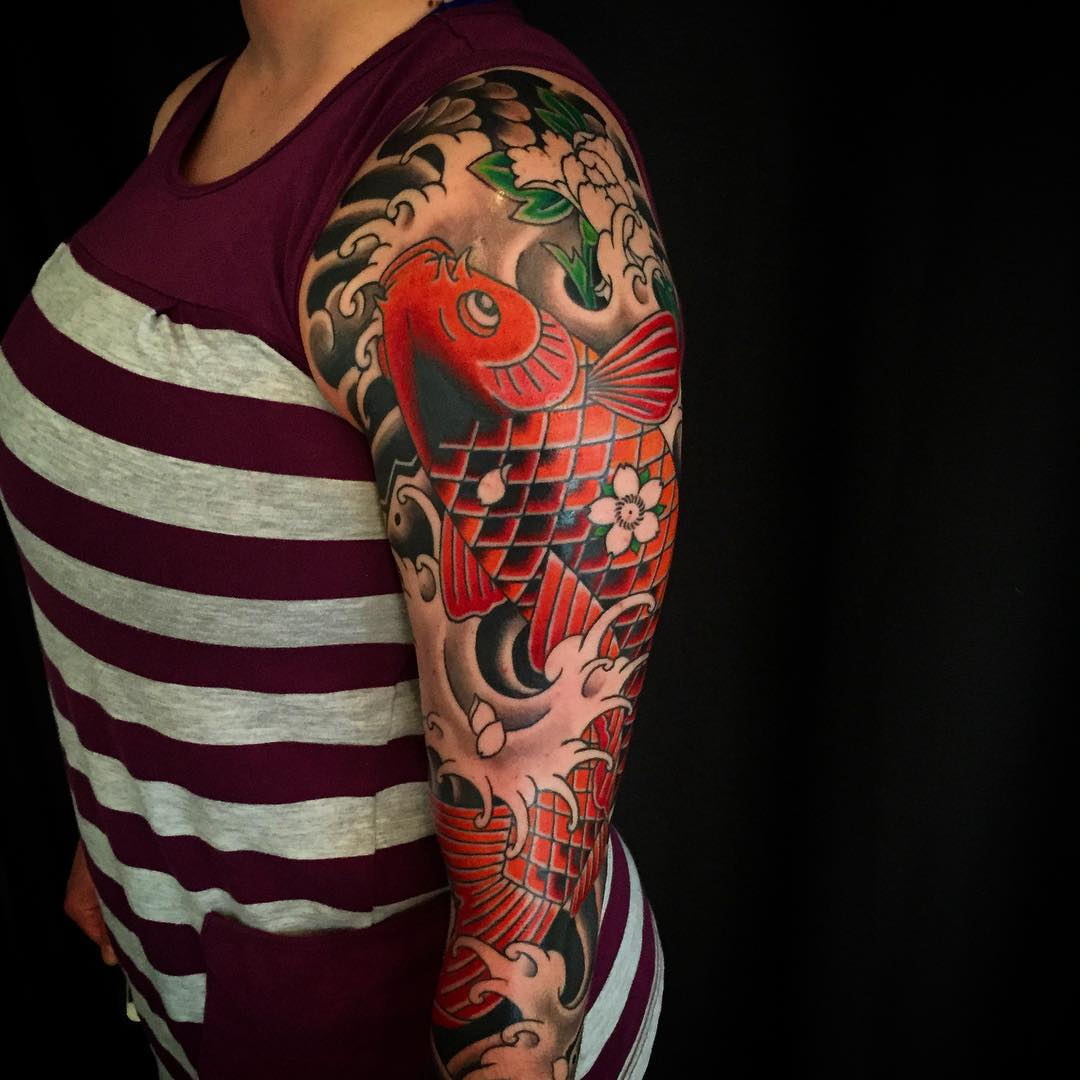 Japanese tattoo sleeve best tattoo ideas gallery for Oriental tattoo