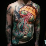 Jelly Fish Tattoo