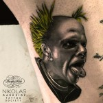 Keith Flint Tattoo