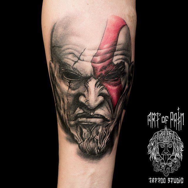 Kratos God of War Tattoo