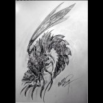 Monster Bug Tattoo Design