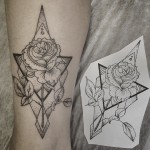 Rose Arm Tattoo