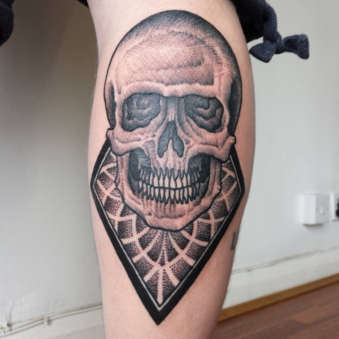 Skull Tattoo Arm