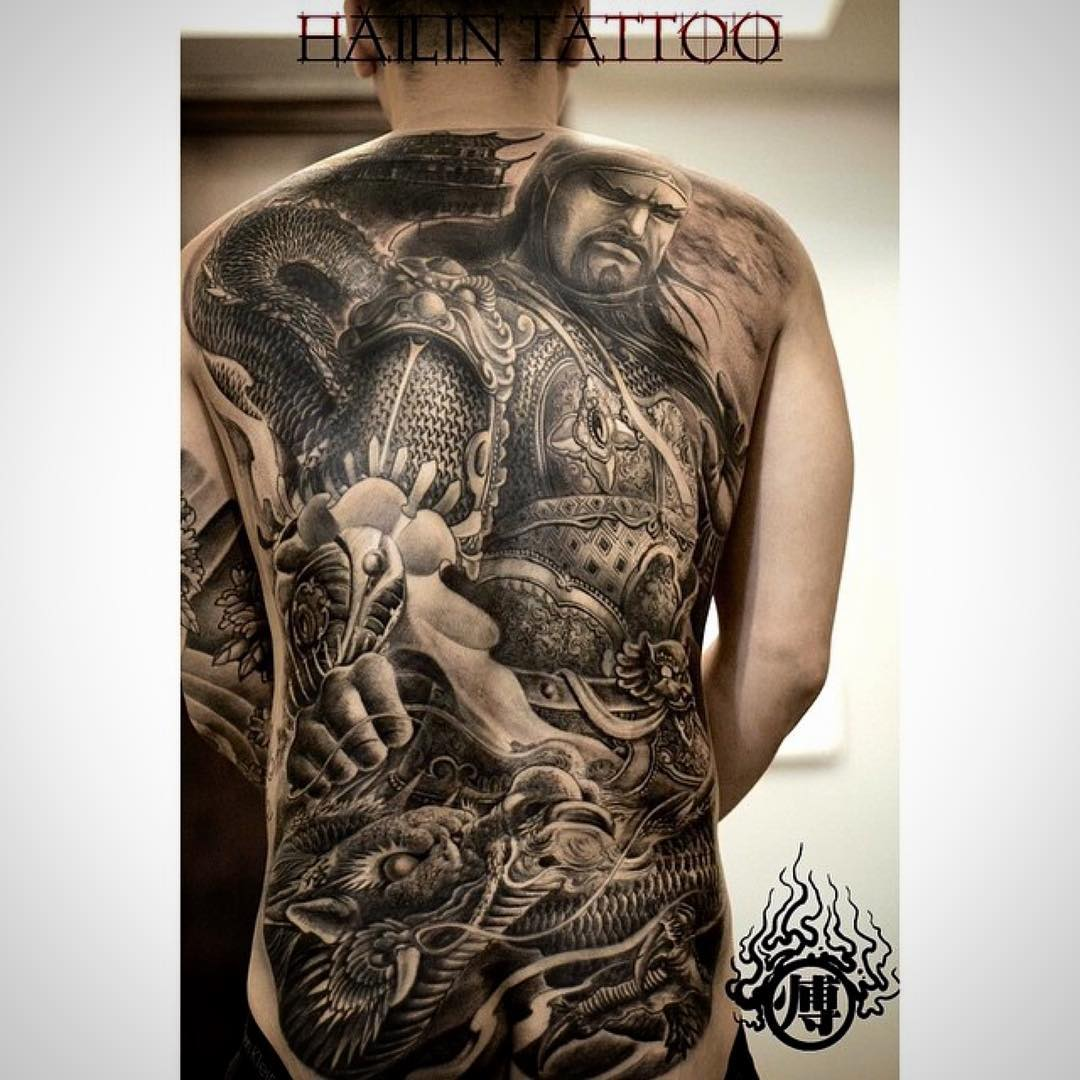 Tattoo Full Back