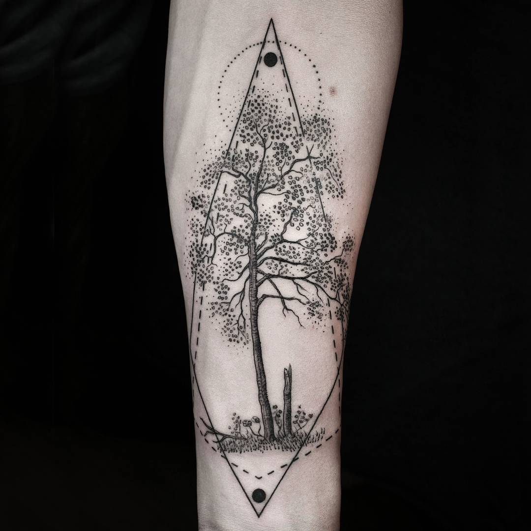 Tree Arm Tattoo