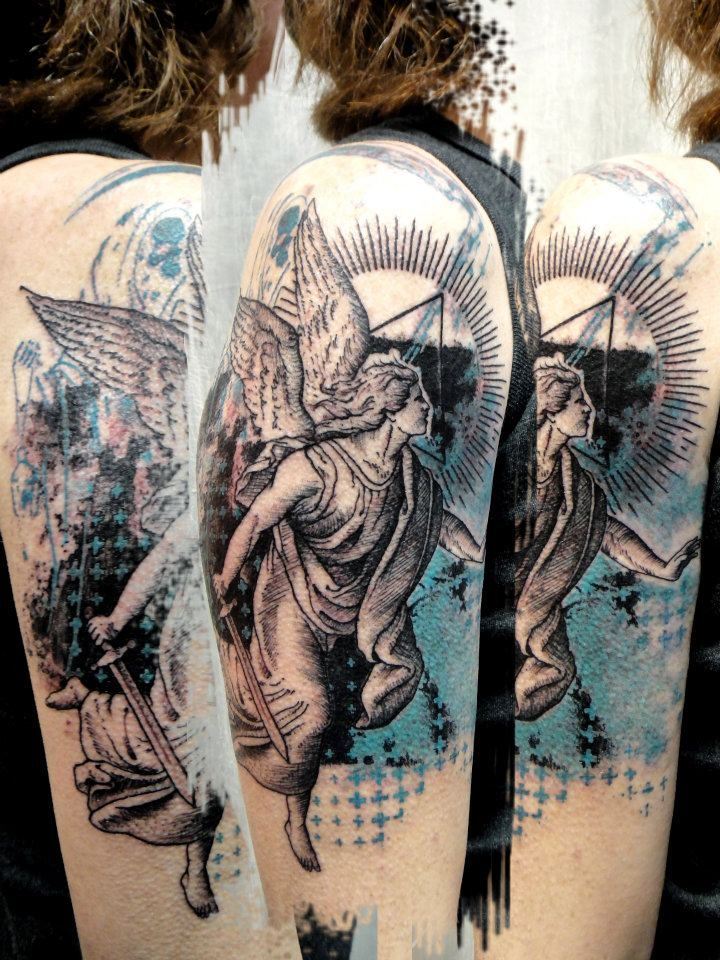 angel tattoo2