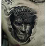 3D Portrait Tattoo
