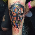 Abstract Arm Tattoo
