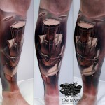 Abstract Art Tattoo