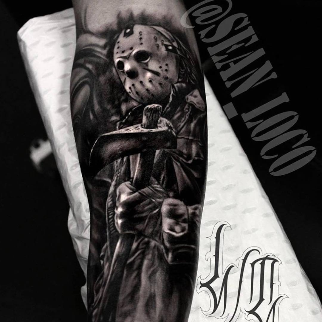 Arm Jason Tattoo