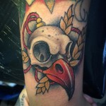 Bird Skull Tattoo