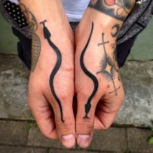 Black Snake Tattoo