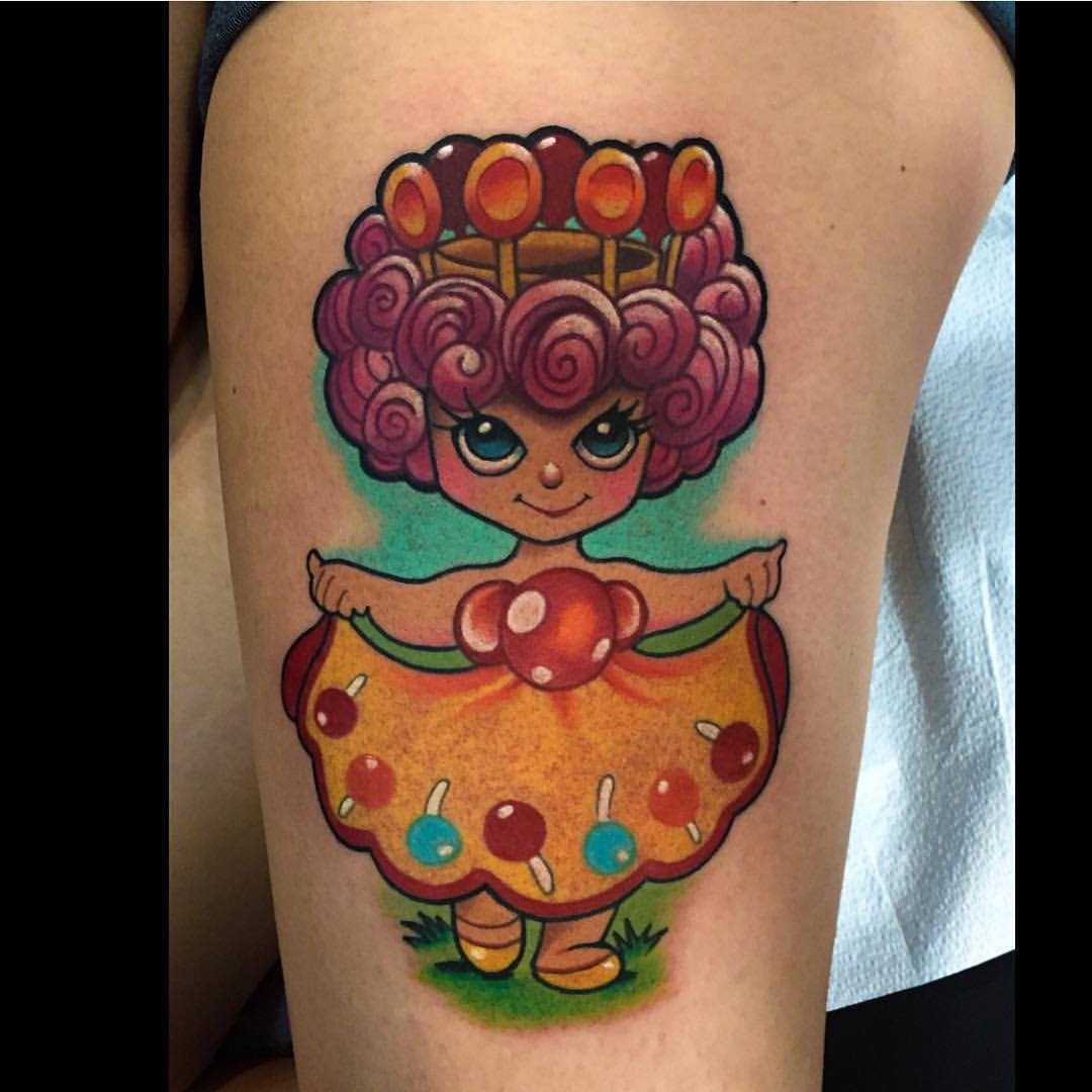 Cute Girl Tattoo