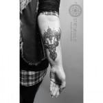 Deer Tattoo Arm