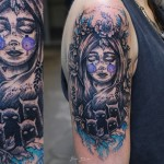 Demon Girl Tattoo