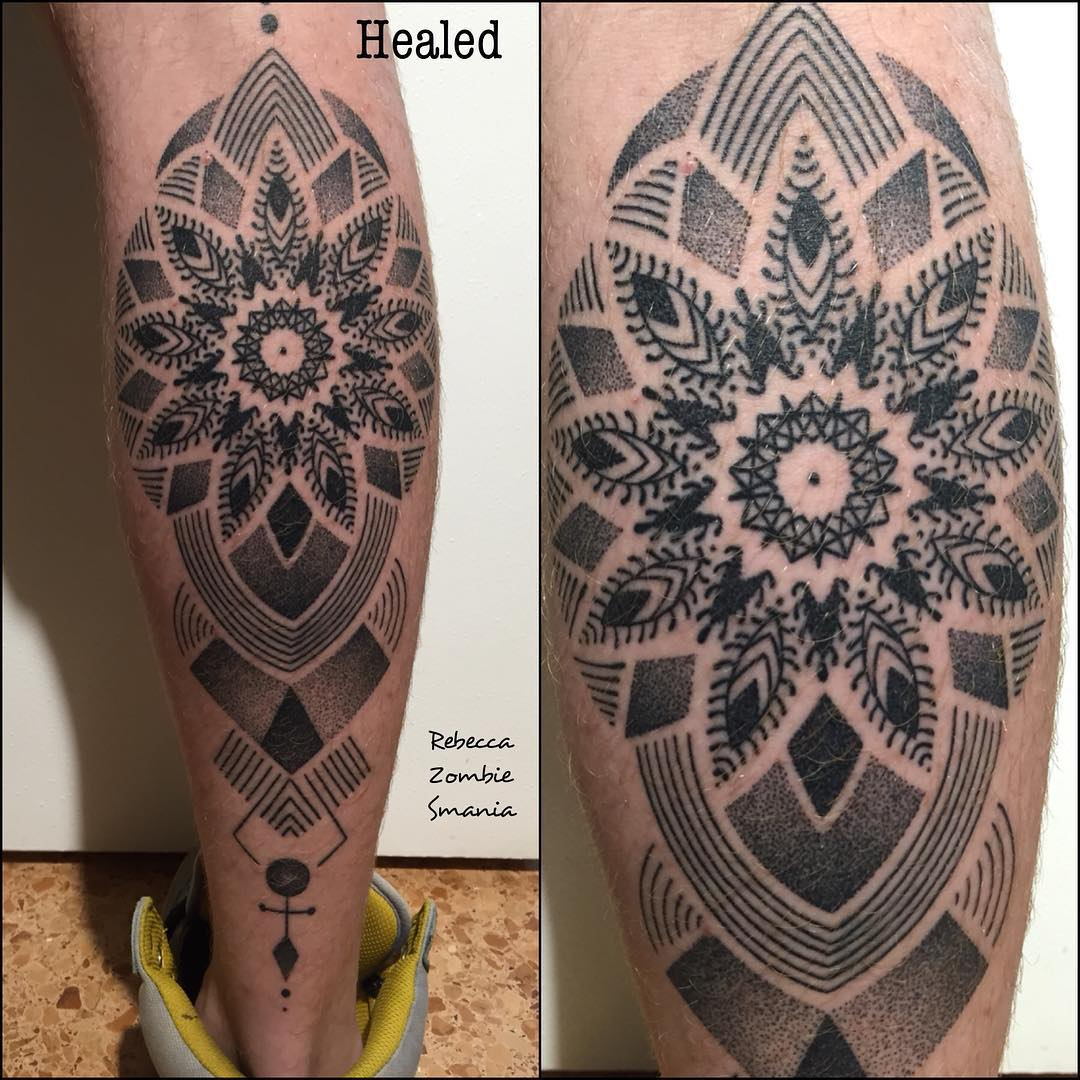 Dotwork Tattoo Mandala