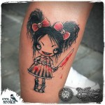 Evil Girl Tattoo