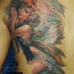 Fairy Back Tattoo