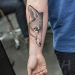 Fox Arm Tattoo
