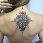 Girls Back Tattoo