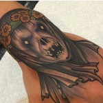 Grey Ghost Tattoo