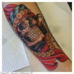Gypsy Skull Tattoo