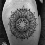 Mandala Dot Tattoo