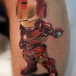 Kid Ironman Tattoo