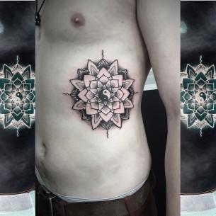 Lotus Mandala Tattoo