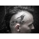Magpie Head Tattoo