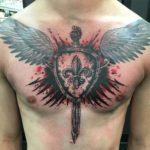 Protect Yourself With Shield Tattoo