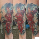 Marvel Ironman Tattoo