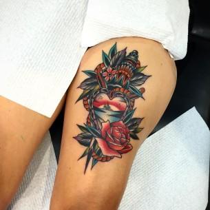 Nautical Themed Tattoo