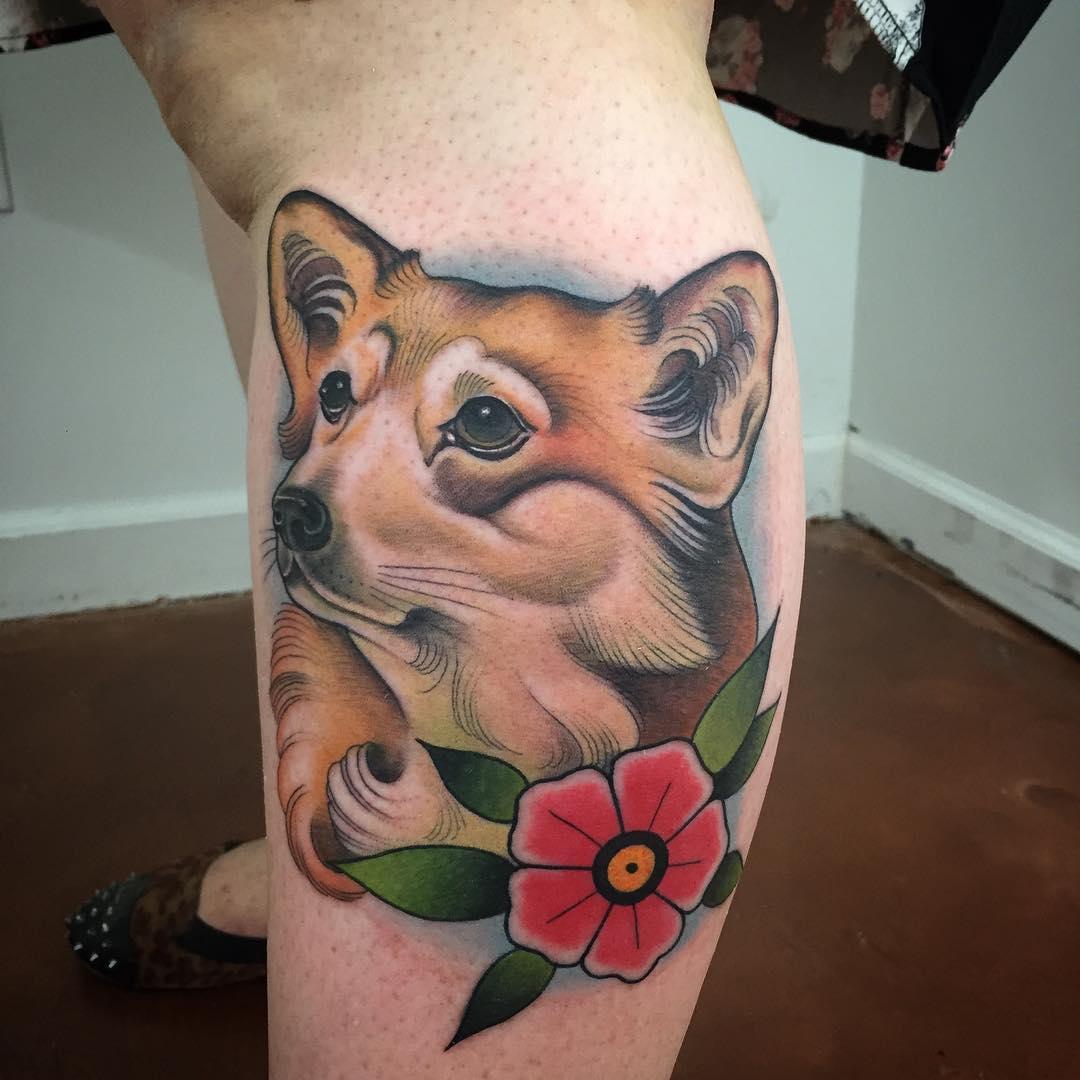 Red Dog Tattoo