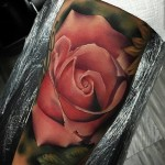 Rose Tattoo Arm
