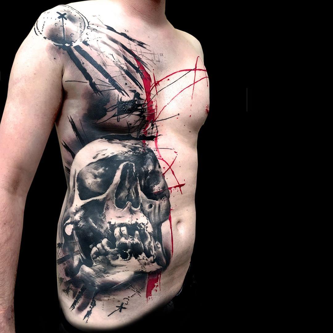 Side Body Tattoo