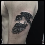 Sparrow Bird Tattoo