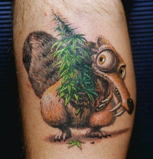 Squirrel tattoo3